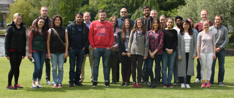 26 students from Belgium, Italy, England and Ireland took part in the course.